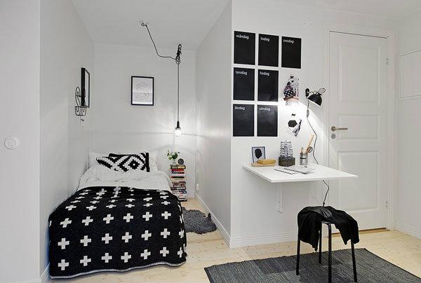 รวมไอเดีย (คิดได้ไง) การแต่งห้องนอนขนาดเล็กให้ดูมีพื้นที่มากขึ้น กว่า 30 แบบ