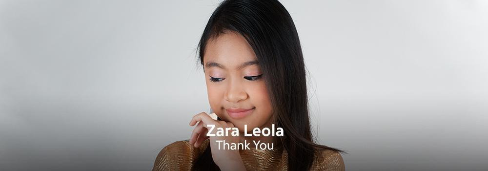 New Release - Zara Leola- Thank you