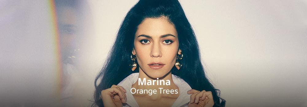 New Release -  Marina - Orange Trees
