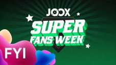Try joox for free music anytime anywhere joox announcement joox super fans week winner 1 7 juni stopboris Choice Image