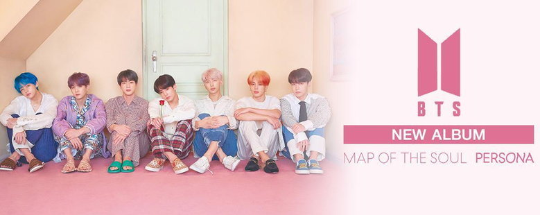 Album : MAP OF THE SOUL : PERSONA - BTS