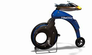 YikeBike : Folding Electric Bicycle