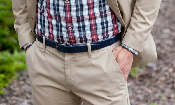 วิธีใส่เข็มขัดผู้ชาย