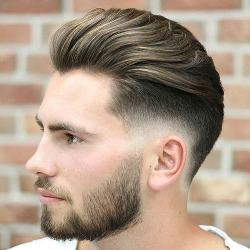 """17 Cool Haircuts For Men With Thick Hair: ���วมรูปภาพของ 17 ���รงผม €�เปิดหน้าผาก"""" ���ี่ดีที่สุดสำหรับ"""