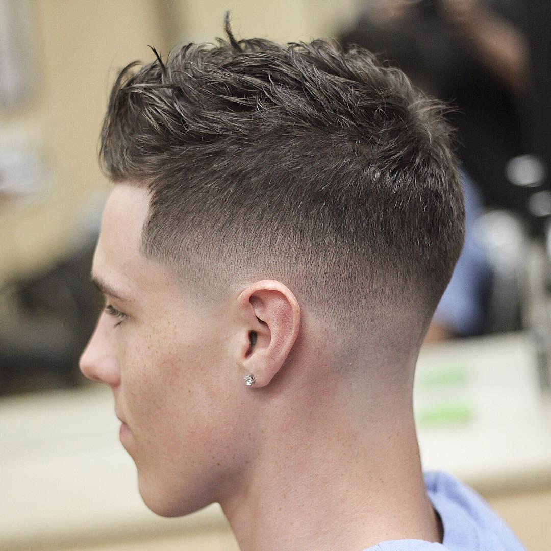 """10 Best Fade Haircuts For Men 2018: รวมรูปภาพของ """"ทรงผมสั้น"""" สำหรับผู้ชาย 2018 รูปที่ 3 จาก 25"""