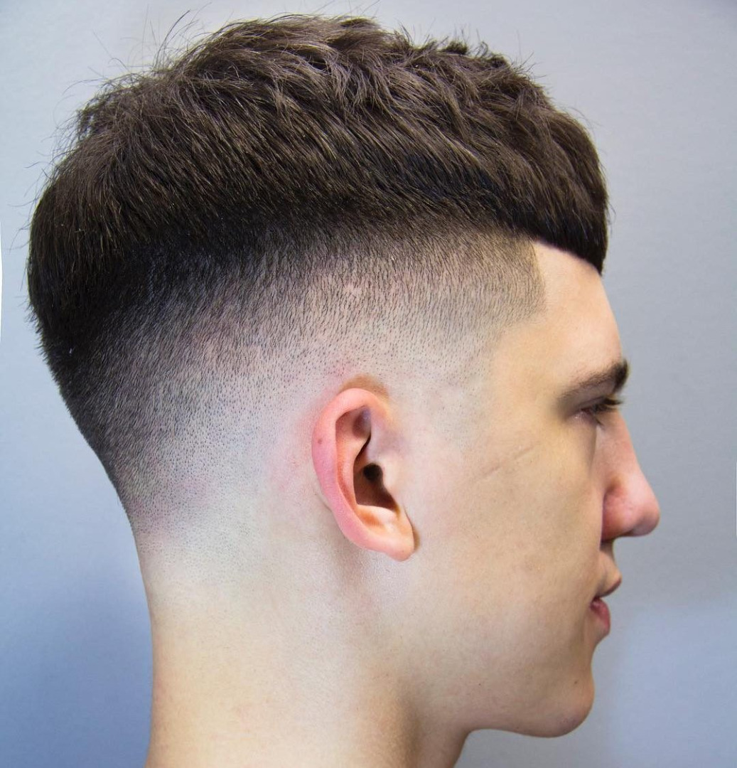 """10 Best Fade Haircuts For Men 2018: รวมรูปภาพของ """"ทรงผมสั้น"""" สำหรับผู้ชาย 2018 รูปที่ 16 จาก 25"""