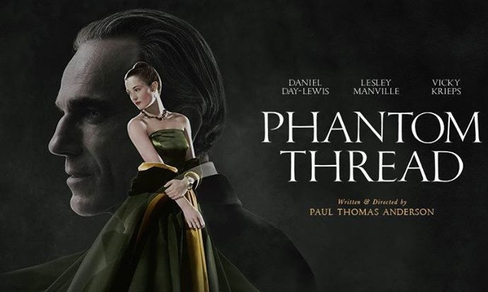 ผลการค้นหารูปภาพสำหรับ phantom thread poster