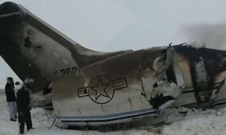 เครื่องบินทหารสหรัฐฯ ตกในอัฟกานิสถาน คาดไม่มีผู้รอดชีวิต