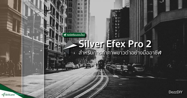 Silver Efex Pro 2 สำหรับการทำภาพขาวดำอย่างมืออาชีพ