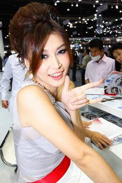 สาวน้อยน่ารักพริตตี้ Honda : Motor Expo 2010