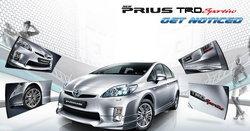 Toyota Prius TRD sportivo ...จัดให้พิเศษสำหรับคอสปอร์ต