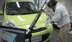 แอบดูญี่ปุ่นตรวจ Nissan March ..เล่นกันแบบนี้เลยทีเดียว