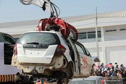 Honda ยืนยันคุณภาพผลิตภัณฑ์ ตอบแทนความเชื่อมั่นจัดทำลายรถที่ได้รับความเสียหายจากอุทกภัย