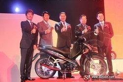Hondaเปิดแผง 2 ล้อ 7 รุ่น ลุยตลาด 2012  มั่นใจยังครองใจอันดับ 1