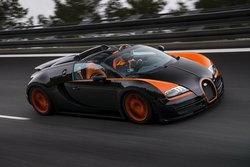 Bugati Veyron GS Vitesse  เปิดประทุนตัวแรง เร็วสุดในโลก 409  ก.ม./ช.ม.