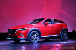 Mazda CX-3 เปิดตัวเป็นครั้งแรกของโลกที่สหรัฐฯ