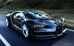 2017 Bugatti Chiron สุดยอดไฮเปอร์คาร์ 1,500 แรงม้ารุ่นใหม่ล่าสุดเปิดตัวแล้ว