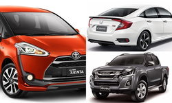 อัพเดตราคารถใหม่ในตลาดรถยนต์ ประจำเดือนสิงหาคม 2559