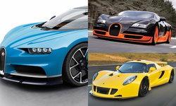 หลังติดเบาะ! 5 รถยนต์ที่เร็วที่สุดในโลกปี 2017