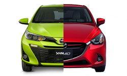 เทียบสเป็ค Toyota Yaris 2017 และ Mazda2 2017 อ็อพชั่นใครแน่นกว่ากัน?