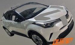Toyota IZOA 2018 ฝาแฝด C-HR ปรากฏภาพหลุดที่ประเทศจีน