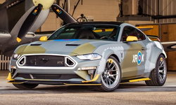 Ford Mustang GT Eagle Squadron 2018 ใหม่ รุ่นพิเศษคันเดียวในโลก