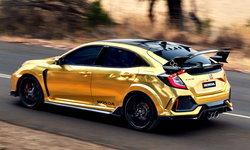 Honda Civic Type R 2019 ตัวถังสีทองพิเศษฉลอง 50 ปี ที่ออสเตรเลีย