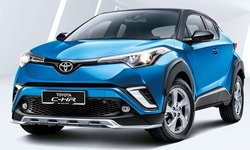 Toyota C-HR 2019 โฉมไมเนอร์เชนจ์ใหม่ เปิดตัวแล้วที่มาเลเซีย