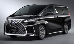 Lexus LM 2019 ใหม่ เอ็มพีวีหรู 4 ที่นั่งสุดอลังการเปิดตัวที่ประเทศจีน