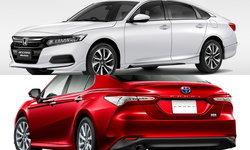 เทียบสเป็ค Toyota Camry และ Honda Accord 2019 ใหม่ ต่างกัน 30,000 คันไหนคุ้มกว่า?