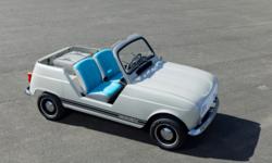 Renault e-Plein Air ความคลาสสิคสมัยใหม่ในรูปลักษณ์รถยนต์ไฟฟ้าต้นแบบ