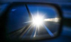 เทคนิครับมือเมื่อไฟหน้ารถคันอื่นแยงตา