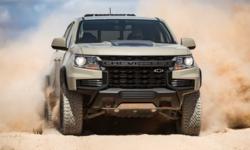 ภาพเซตแรก Chevrolet Colorado ZR2 2021 กระบะตัวแต่งพร้อมลุยออฟโรดไม่ยั้ง!