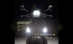 เผยทีเซอร์ Vespa GTS Super Tech แรงและทรงพลังที่สุดเท่าที่เคยมีมา