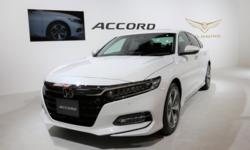 All-new Honda Accord 2019 เผยยอดจองถล่มทลายภายใน 4 เดือน