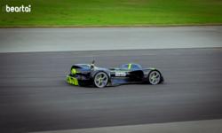 ทำสถิติโลก! Robocar รถแข่งไฟฟ้าไร้คนขับจัดเต็มความเร็ว 282.42 กม./ชม.