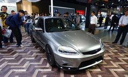 Honda Civic Cyber Night Japan Cruiser 2020 ร่างแปลง EK9 สามประตูในสไตล์ยุคไซเบอร์