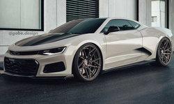 เอาเรื่อง! Chevrolet Camaro รุ่นเครื่องยนต์วางกลางที่เกิดขึ้นจริงในโลกเรนเดอร์