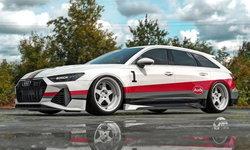 บอดี้ก้าวร้าวขึ้น! Audi RS6 Avant ที่ได้รับแรงบันดาลใจจากรถแรลลี่ในตำนาน