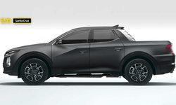 หลุดภาพเรนเดอร์ Hyundai Santa Cruz ปิกอัพที่มีการเรียกร้องอยากเห็นคันจริงแล้ว (คลิป)