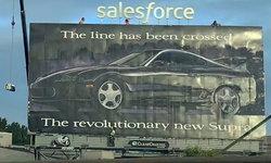 ตำนานมาไง?! ป้ายโฆษณาบิลบอร์ด Toyota Supra ปี 1993 เด่นตระหง่านที่สหรัฐฯ