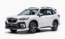 ราคารถใหม่ Subaru ในตลาดรถยนต์เดือนสิงหาคม 2563