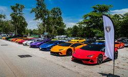 """ส่องสีสันกระทิงดุกว่า 40 คันในคาราวานสุดเอ็กซ์คลูซีฟ """"Lamborghini Giorno Trip"""""""