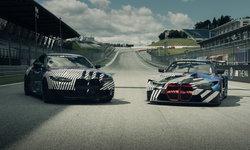 คู่หูไอคอน! เผยโฉม BMW M4 และ M4 GT3 แบบไม่เต็มคัน รอทยอยเปิดตัวเร็วๆ นี้