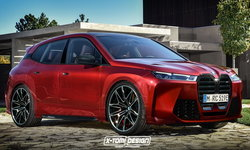 BMW iX 2021 เวอร์ชั่น M ตัวแรงอาจหน้าตาเป็นแบบนี้