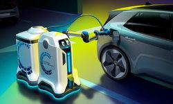 Volkswagen เผยโฉมหุ่นยนต์ชาร์จรถไฟฟ้าอัตโนมัติ อยู่ที่ไหนก็ชาร์จได้