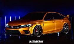 พอไหวไหมถ้า Honda Civic Type R 2022 ใหม่ จะมีหน้าตาเป็นแบบนี้