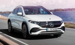 Mercedes-Benz EQA 2021 ใหม่ ครอสโอเวอร์ไฟฟ้ารุ่นเล็กเผยโฉมแล้ว