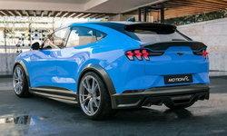 Ford Mustang Mach-E 2021 ใหม่ พร้อมชุดแต่ง Motion R เสริมความหล่อรอบคัน