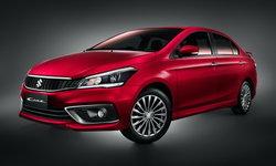 ราคารถใหม่ Suzuki ในตลาดรถยนต์ประจำเดือนธันวาคม 2563
